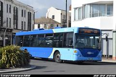 6560 (northwest85) Tags: bus worthing marine parade 23 scania metrobus lkg 6560 omnicity yn07 yn07lkg