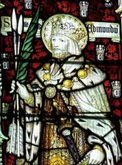 Retford - St Swithun's - Kempe Glass (Glass Angel) Tags: tower stainedglass nottinghamshire retford kempe stswithun stedmund