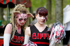 ZomBIFFF parade cheerleaders (Red Cathedral [FB theRealRedCathedral ]) Tags: girls brussels blood cosplay zombie sony bruxelles gore horror undead cheerleader alpha zombies brussel larp livingdead redcathedral bifff zombiewalk warandepark pompomgirls zombieparade a850 thewalkingdead parcroyal eventcoverage sonyalpha brusselsinternationalfestivaloffantasticfilm aztektv jesuisbruxelles