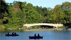 Bow Bridge, the Lake, Central Park (Barbara DALMAZZO-TEMPEL) Tags: nyc centralpark manhattan bowbridge thelake