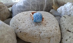 (katerina66) Tags: texture handmade ring jewellery polymerclay