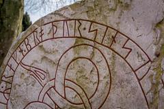 Pensionerade bokstäver, ristade i sten (MagnusBengtsson) Tags: skåne sverige österlen runsten runor bokstaver simris fotosondag fs160417