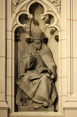 Saint Anselm in St Patrick's (Lawrence OP) Tags: nyc newyork cathedral saints stpatricks anselm doctorofthechurch