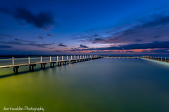 My favourite photography location, North Narrabeen. (darrinwalden Photography) Tags: sky colour pool timber sydney australia narrabeen