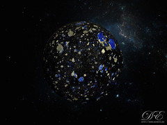 Macro Planet 4 (DougalEgan) Tags: blue white black macro art glass azul ball grey gris nikon noir space horizon sigma bleu galaxy sphere planet d750 marbles marble universe blanc cosmos f28 espace galaxie galaxia verre planete espacio planeta bille universo 105mm billes univers