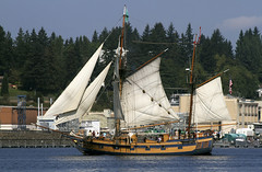 Tall Ship Port Orchard (Don Thoreby) Tags: pugetsound tallship olympicmountains tallshiptour