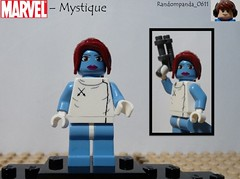 Mystique (Random_Panda) Tags: comics book comic lego fig character books super hero figure superhero characters heroes minifig minifigs superheroes marvel figures figs minifigure minifigures