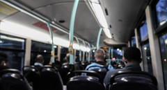 Route 83 London Bus (Kenco2o11) Tags: street city bridge red people bus london night train underground cross transport tube kings wembley bakerloo