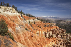 Bryce Canyon South Western Utah  10 (Largeguy1) Tags: blue sky clouds canon landscape utah mark south canyon ii western 5d bryce approved