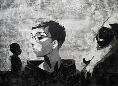 EHIKF (Christian Haupt) Tags: art monochrome painting stencil kunst acryl malerei serigrafie