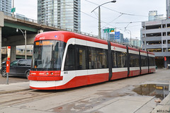 TTC Flexity Streetcar #4412 (SteveC123!) Tags: new toronto trolley ttc tram outlook streetcar bombardier 4412 flexity