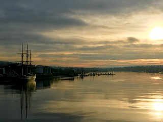 The River Barrow, New Ross, Co. Wexford, Ireland