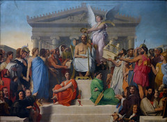 Ingres, The Apotheosis of Homer, 1827