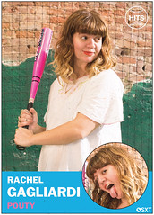 Rachel Gagliardi of Pouty (Scott Troyan) Tags: usa philadelphia pa philly pouty baseballcards rachelgagliardi scotttroyan everybodyhits