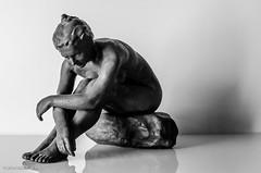 Just Resting!! (BGDL) Tags: blackandwhite monochrome statue bronze week27 niftyfifty statuessculptures 7daysofshooting nikond7000 blackandwhitewednesday bgdl afsnikkor50mm118g lightroomcc
