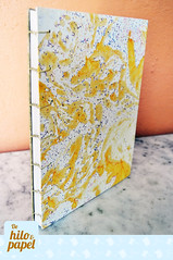 Copta amarilla 2 (Vita-design) Tags: handmade crafts bookbinding cuaderno libretas copta encuadernacin dehiloypapel