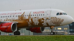 """Isla Citta Invicta"" Air Malta 9H-AEO Airbus A320-214 cn/2768 European Capital of Culture 2018 c/s @ EHAM / AMS Taxiway Q 29-12-2015 (Nabil Molinari Photography) Tags: european air capital culture 2006 malta airbus cs dd q airlines invicta industrie isla current ff ams citta 307 libyan 2018 eham taxiway 2768 1106 leased 51206 41806 a320214 9haeo cfm565b4p ilfc cn2768 islacittainvicta 29122015 bhpq 4d2025 view9haeo viewfwwdk"