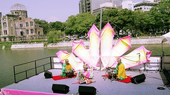70th anniversary Ceremony for HIROSHIMA after Atomic Bombing (S-va-ha) Tags: art artist contemporaryart buddhist performance buddhism hiroshima japaneseart buddhistmonk buddhistart  japanesemonk contemporaryasianart    hiroshimaatomicdome   contemporaybuddhistart conporaryjapaneseart