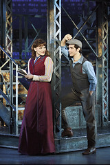 "Morgan Keene (Katherine) and Joey Barreiro (Jack Kelly) in the Broadway Sacramento presentation of ""Newsies"" at the Sacramento Community Center Theater April 12 – 17, 2016.  ©Disney.  Photo by Deen van Meer."