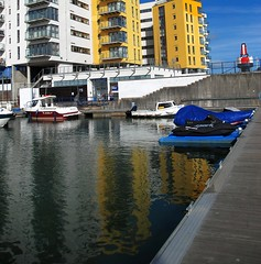 At Sovereign Harbour There is Always Something to Reflect Upon... (antonychammond) Tags: sea water marina harbour eastbourne sovereignharbour saariysqualitypictures thebestofmimamorsgroups contactgroups architectureandcities