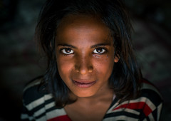 gypsy teenage girl, Central County, Kerman, Iran (Eric Lafforgue) Tags: poverty portrait people girl face horizontal photography eyes asia iran character traditional poor culture persia headshot indoors tribes teenager nomad tribe gypsy gypsies kerman cultural oneperson middleeastern frontview nomadic teenagegirl lookingatcamera   1people  iro onegirlonly  centralcounty colourpicture  khoshneshin irandsc06965