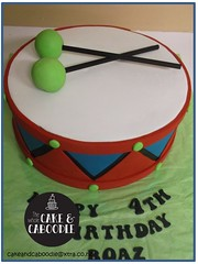 little drummer boy (The Whole Cake and Caboodle ( lisa )) Tags: cakes cake drum whangarei caboodle thewholecakeandcaboodle