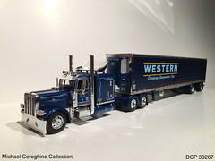Diecast replica of Western Distributing Peterbilt 389, DCP 33267 (Michael Cereghino (Avsfan118)) Tags: scale truck toy model die semi corporation replica cast transportation western 164 trans corp peterbilt promotions diecast 389 dcp distributing wdtc