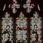 Carlton-leMoorland, St Mary's church East window thumbnail