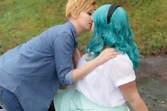 DSC_4077 (XRavenheartPH) Tags: moon cute girl couple foto cosplay persone haruka di yuri cosplayer sailor neptune uranus gruppo michiru bambino allaperto