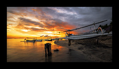 TWB_9579 (xxtreme942) Tags: sunset sea bali cloud sun beach indonesia candidasa