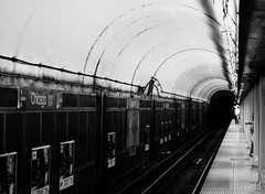 Towards Home (utsavized) Tags: chicago train subway thel