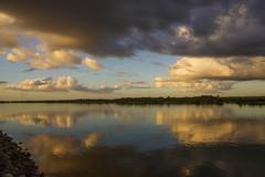 Matanzas Inlet (+Lonnie & Lou+) Tags: ocean travel blue sky usa beach nature water clouds sunrise florida sony tennant saintaugustine a7r