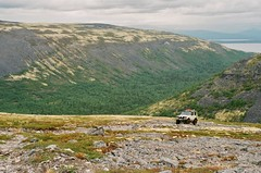 in the heart of northern mountains (daria.goltekova) Tags: mountain mountains film expedition nature 35mm landscape moss offroad russia outdoor north ishootfilm explore 200 toyota 70 landcruiser tundra wildnature