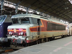 A BB 15000 Class electric locomotive, Gare St. Lazare, Paris (Steve Hobson) Tags: paris station gare class bb sncf stlazare 15000