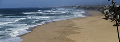 Praias de Santa Cruz (Lolo_) Tags: santa praia portugal bay waves walk sable atlantic cruz vagues plage torres silveira vedras