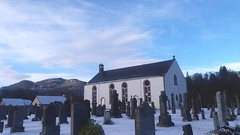 Chill Factor (monkeyiron) Tags: snow church cemetery grave graveyard headstone perthshire birnam