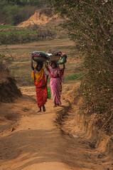 DEOGHAR - ON THE WAY-20160129_DSC_0179 (JDB_Photography) Tags: women village path washing