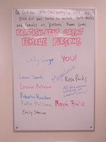Particularly Great Female Persons