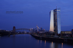 44/366 - The Sunrise That Almost Was (.avina.) Tags: germany frankfurt ost europeancentralbank 44366 366the2016edition