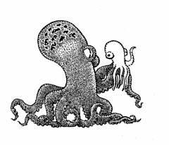 Hello, girls and boys. (Don Moyer) Tags: notebook puppet drawing octopus moyer brushpen inbk donmoyer