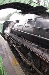 IMGP8417 (Steve Guess) Tags: uk england train engine loco hampshire steam gb locomotive alton lms 460 ropley alresford hants fourmarks medstead black5 45379