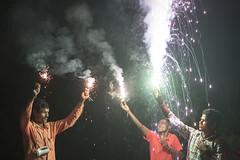 Diwali in Bhoramdeo - Chhattisgarh - India (wietsej) Tags: diwali bhoramdeo chhattisgarh india sony a7rii zeiss sel55f18z 55 18 firework jongsma wietse kawardha