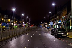 Watford Way, Hendon Central (LFaurePhotos) Tags: road building london architecture night a41 hendon northwestlondon londonatnight dualcarriageway londonboroughofbarnet watfordway