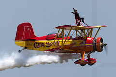 Gene Soucy and Teresa Stokes (Flightline Aviation Media) Tags: airplane airport waco aircraft aviation airshow stockphoto grumman wingwalker showcat heartoftexas cnw genesoucy tstc teresastokes canon50d g164 nx7699 bruceleibowitz kcnw 8091106 flightlineaviationmedia