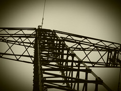 Power Pole (gittermasttyp2008) Tags: old sky tower art history danger germany landscape climb energy power towers over arts pole pylon climbing german powerline powerpole lattice highvoltage voltage overland electricitytower highvoltagetower powertower powerpylon highvoltagetowers latticetower latticeclimbing latticetowerclimbing