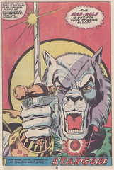 Marvel Premiere 045 / page 31 (micky the pixel) Tags: comics comic warrior marvel heft georgeperez manwolf marvelpremiere frankgiacoia