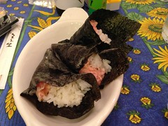 Homemade Tuna Hand Rolls (Foggy Bear) Tags: food sushi ttown