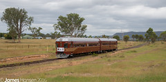 726-661 approaching Rylstone (vicrailways) Tags: au australia newsouthwales rylstone