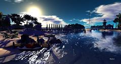Greetings from The Keys (| Raven |) Tags: life sea art beach sl ravi works second ravishing
