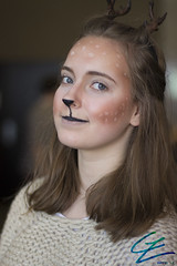 Reindeer Girl (gxle) Tags: original portrait people canon eos rebel helsinki kiss cosplay character oc t3i x5 2016 peura poro 600d rebelt3i kissx5 yukicon 2k16